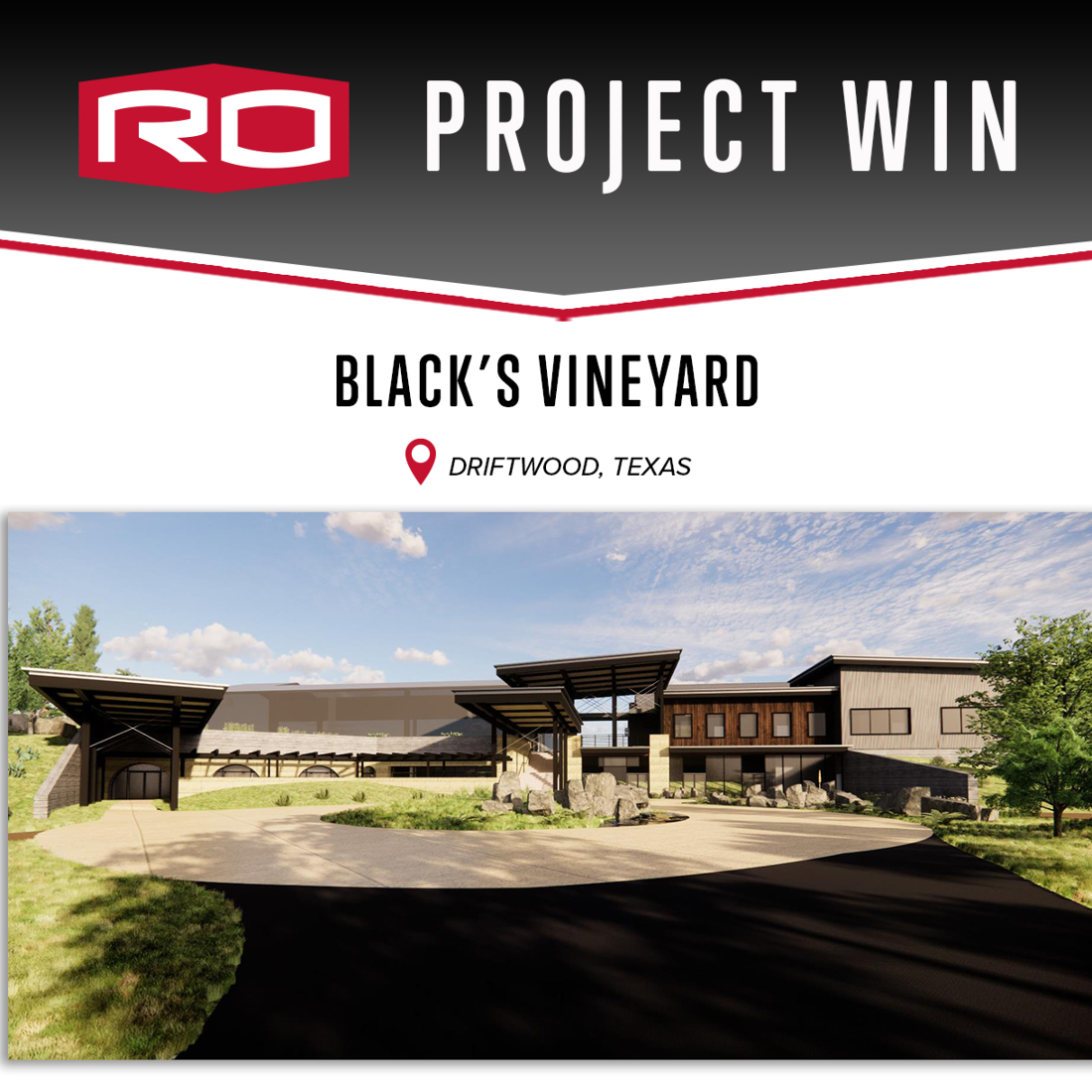 PROJECT WIN: BLACK'S VINEYARD