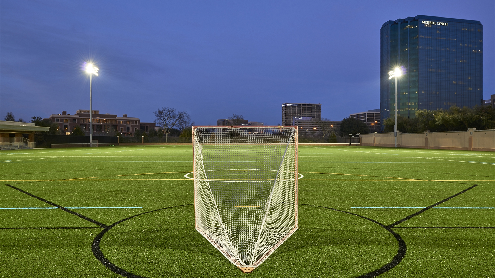 SMU – Southeast Development: Crum Lacrosse and Sports Field Building
